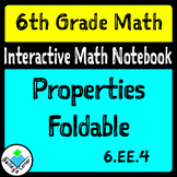 Properties Foldable for Interactive Notebook