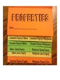 Properties Foldable for Interactive Notebooks