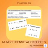 Properties IIIa: Commutative, Associative, Distributive, Identity, Inverse