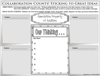 Properties Includes 10 Separate Property Collaboration Activity Stickie Notes