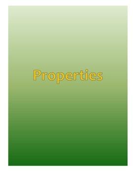 Properties Notes