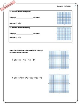 Properties Polynomial Functions