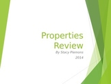 Properties Review Powerpoint