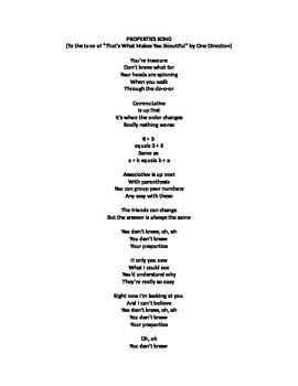Properties Song