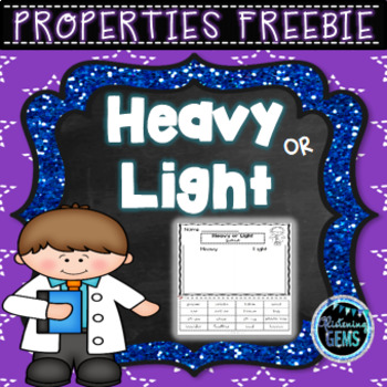 Properties Sort Freebie