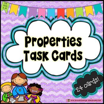 Properties Task Cards