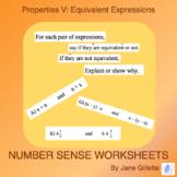Properties V: Equivalent Expressions