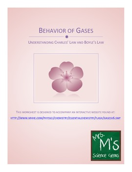 Properties and Behavior of Gases (Charles' Law and Boyle's Law)