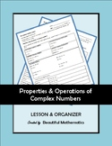 Properties and Operations of Complex Numbers