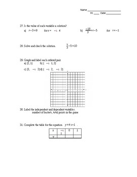 Properties and Probability Assessment