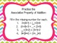 Properties and Strategies of Addition - Common Core Aligned