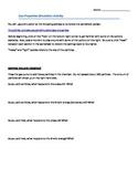 Properties behaviors of gas simulation activity worksheet