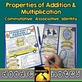 Properties of Add. & Mult. Doodle Notes - Commutative, Ass