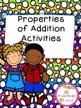 Properties of Addition  Activities