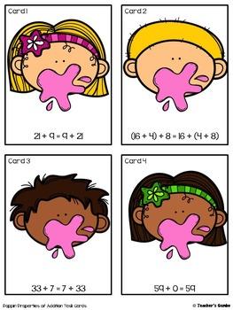 Associative, Commutative, and Identity Properties Bundle