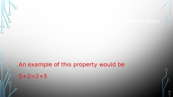 Properties of Addition- Commutative and Associative