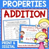 Properties of Addition | Easel Activity Distance Learning