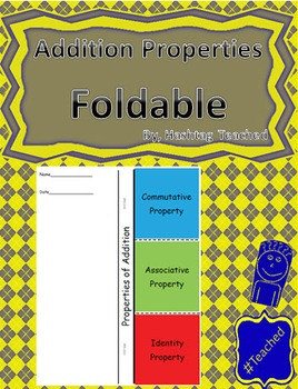 Properties of Addition Foldable Activity