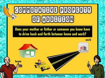 Properties of Addition PowerPoint MOVIE Version