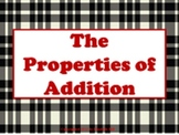 Properties of Addition PowerPoint Presentation