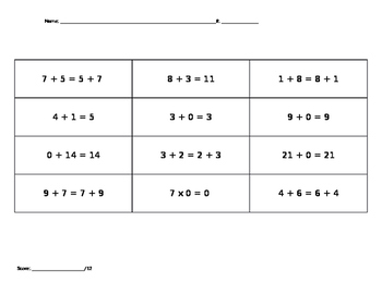 Properties of Addition Sort