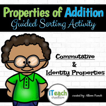 Properties of Addition Sort Activity