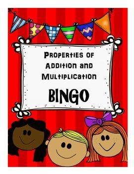 Properties of Addition and Multiplication BINGO MATHO