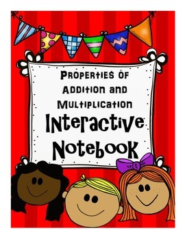 Properties of Addition and Multiplication Interactive Notebook Components