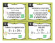 Properties of Addition and Multiplication QR Task Cards