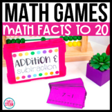 Addition and Subtraction Game 1st Grade