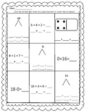 Properties of Addition and Subtraction Assessment {CCSS aligned MAFS.1.OA.2.3}