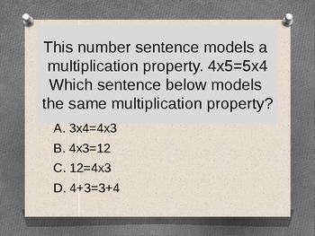 Properties of Addition & multiplication - increased rigor - VA SOL & Common Core