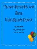 Properties of Air Experiment Bundle