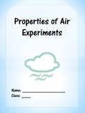Properties of Air Experiments