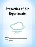Properties of Air Experiments