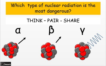 Properties of Alpha, Beta and Gamma Radiation & Uses of Radiation - 2 Lessons