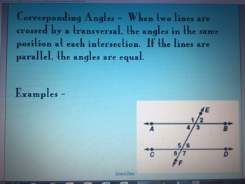 Properties of Angles and Finding Missing Angles