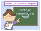 Properties of Angles and Triangles: Right, Acute, and Obtuse