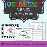 Circles: Arcs, Angles, Chords, Tangents, Secants, Sector Areas, Equations