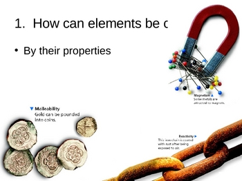 Properties of Elements PowerPoint Presentation
