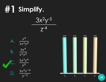 Properties of Exponents (Clicker Review)