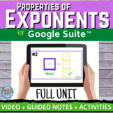 Properties of Exponents Digital Distance Learning FULL UNIT