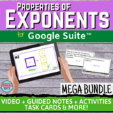 Properties of Exponents Digital Distance Learning Unit MEG