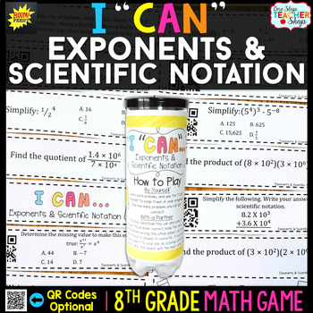 8th Grade Properties of Exponents & Scientific Notation 8th Grade Math Review