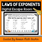 Properties of Exponents Unit Review Digital Escape Room Go