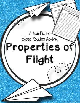 Properties of Flight: A Nonfiction Close Reading Activity
