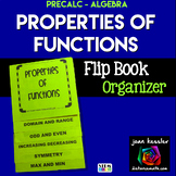 Properties of Functions Flip Book