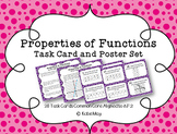 Properties of Functions Task Card and Poster Set *Aligned to CCSS 8.F.2