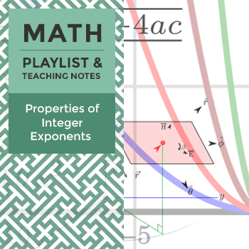 Integer Exponents Teaching Resources | Teachers Pay Teachers