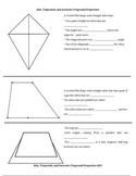 Properties of Kites, Trapezoids, and Isosceles Trapezoids Handout
